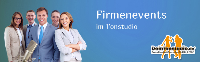 Firmenevents im Tonstudio
