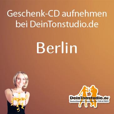 Geschenk Cd Aufnehmen In Berlin Deintonstudio