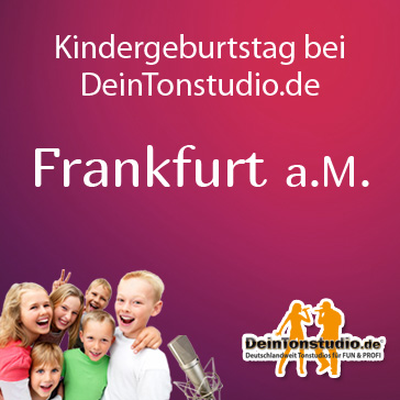 kindergeburtstag in frankfurt deintonstudio. Black Bedroom Furniture Sets. Home Design Ideas