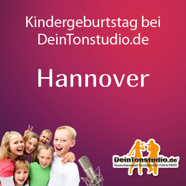 kindergeburtstag in hannover deintonstudio. Black Bedroom Furniture Sets. Home Design Ideas